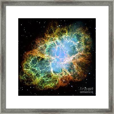 The Crab Nebula Framed Print