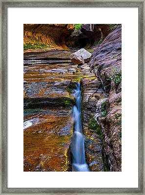 The Crack Framed Print by James Marvin Phelps