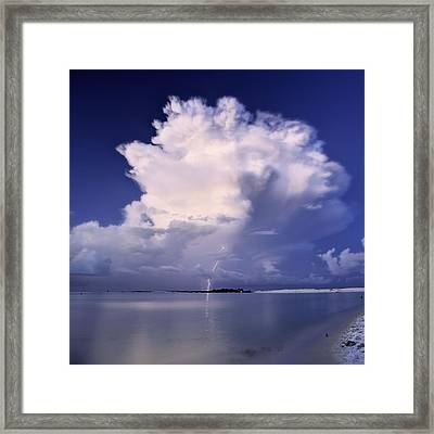 The Crack Of Dawn Framed Print by JC Findley