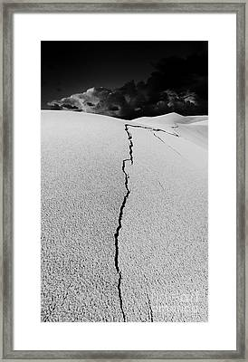 The Crack Of Dawn Framed Print
