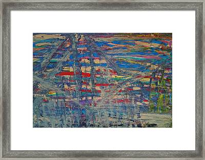 The Crane Operators Framed Print