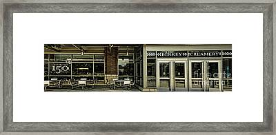 The Creamery Framed Print