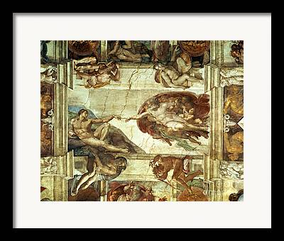 Creationism Framed Prints