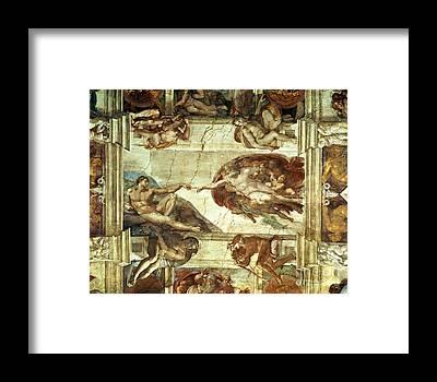 Sistine Framed Prints