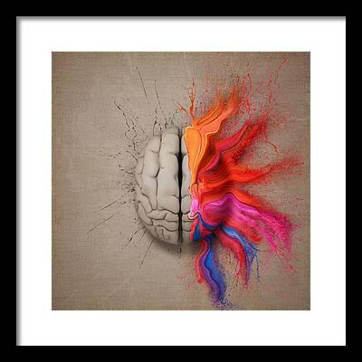 Colourful Framed Prints
