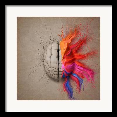 Brain Framed Prints