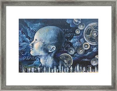 The Creative Man Framed Print