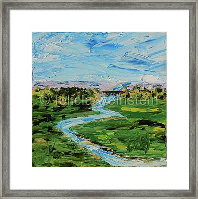 The Creek 2 Framed Print