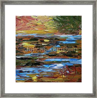 The Creek 3 Framed Print