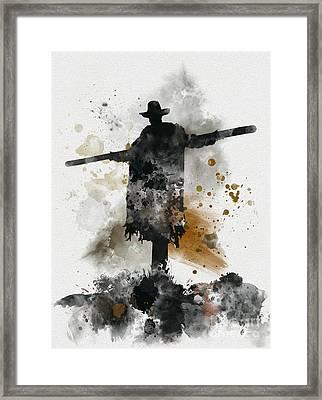 The Creeper Framed Print by Rebecca Jenkins