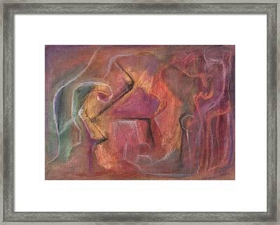 The Cremation Framed Print