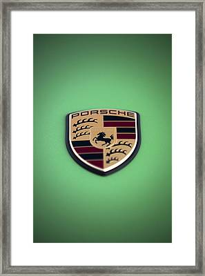 The Crest Framed Print