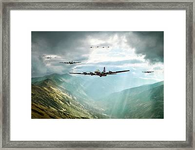 The Crest Of Ore Framed Print by Peter Chilelli