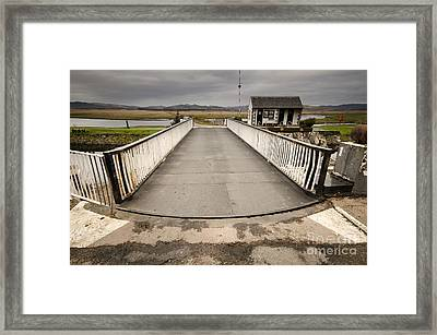 The Crinan Canal Framed Print by Nichola Denny