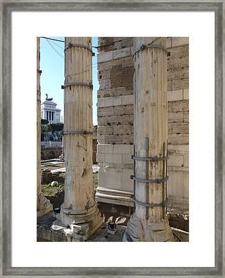 The Crippled Giant Framed Print by Attila Balazs