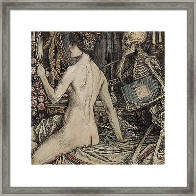 The Critic Framed Print by Herbert Cole