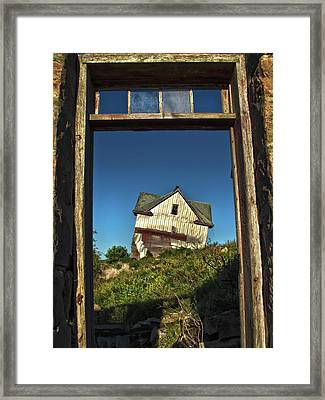The Crooked House Framed Print