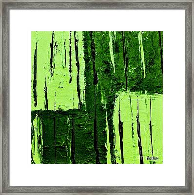 The Crops Are In Framed Print