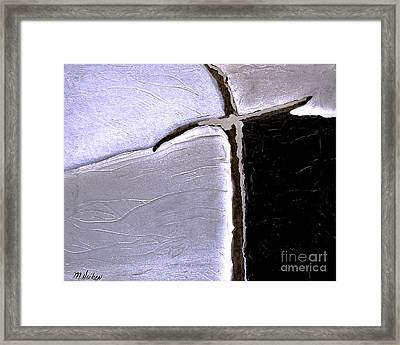 The Cross Glows Framed Print