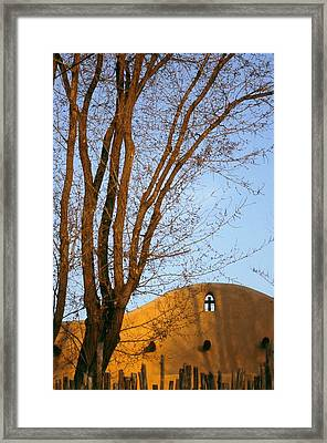 The Cross Framed Print by Lynard Stroud