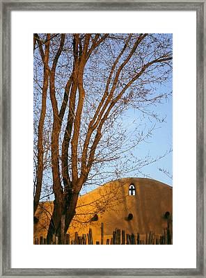 The Cross Framed Print by Lynard Stroud
