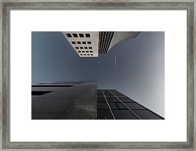 The Cross Over Framed Print by Gerard Jonkman