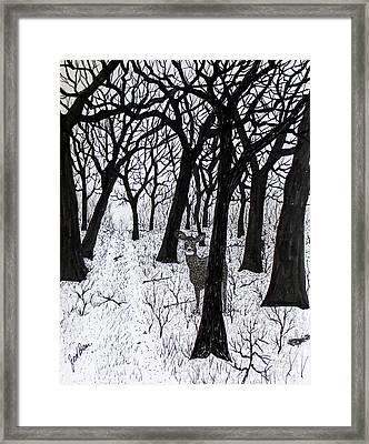 The Crossing  160120 Framed Print