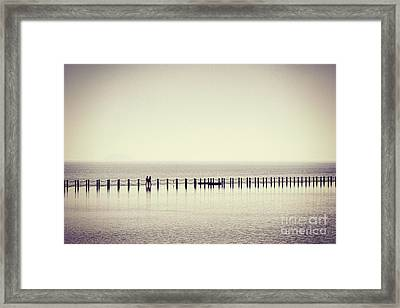 The Crossing Framed Print by Colin and Linda McKie