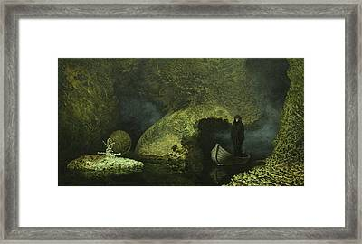 The Crossing Framed Print by Jim Thiesen
