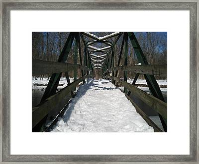 The Crossing Framed Print by Sheryl Burns