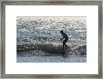 The Crouch Framed Print by AM Photography