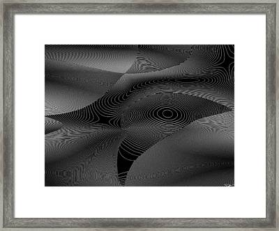 The Crow Framed Print by Abstract Angel Artist Stephen K