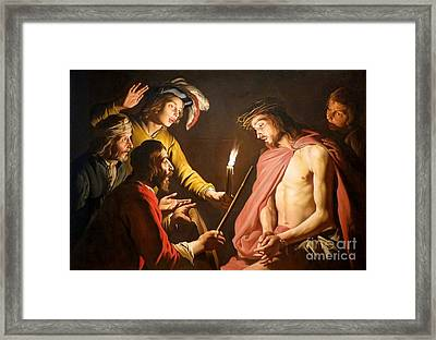 The Crown Of Thorns Framed Print by MotionAge Designs