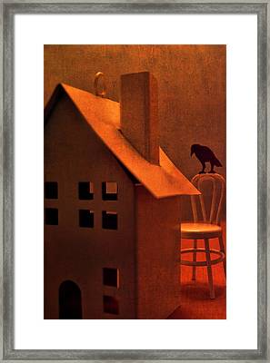 The Crows House Framed Print by Jeff  Gettis