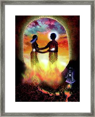 The Crucible Framed Print by Kd Neeley
