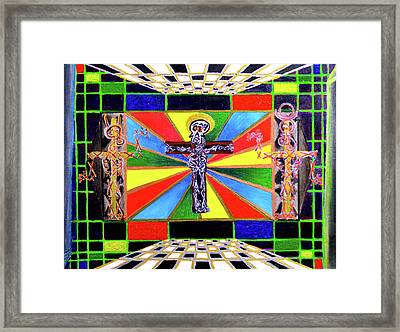 The Crucifffictiooon - Paradisi Gloooria Framed Print