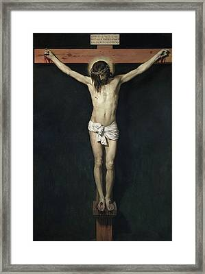 The Crucified Christ Framed Print