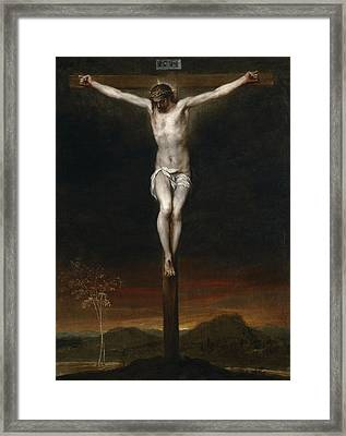 The Crucifixion Framed Print by Alonzo Cano