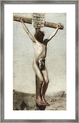 The Crucifixion Framed Print by Thomas Eakins