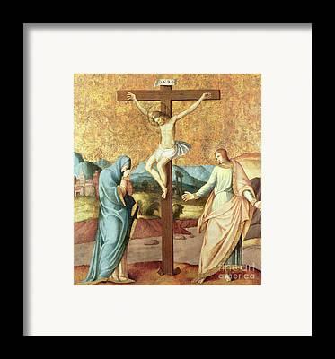 John The Evangelist Framed Prints