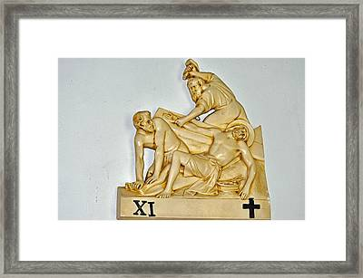 The Cruelty Framed Print