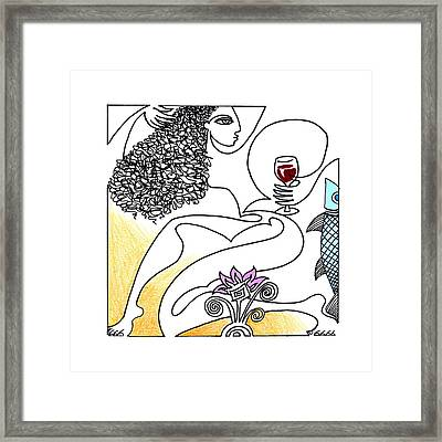 The Crush Framed Print by Roy Guzman