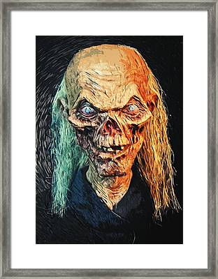 The Crypt Keeper Framed Print