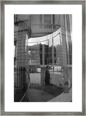 The Crypt Framed Print