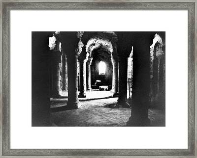 The Crypt Framed Print