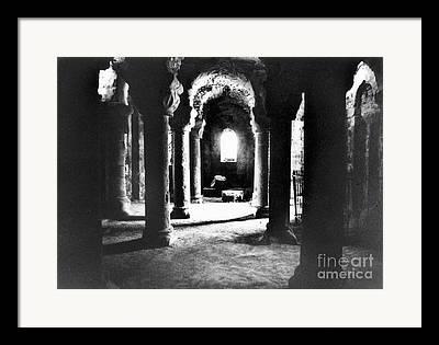 Catacomb Framed Prints
