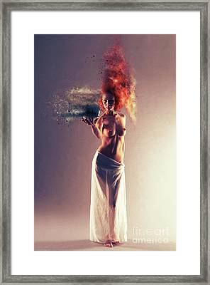 The Crystal Ball Framed Print by Nichola Denny
