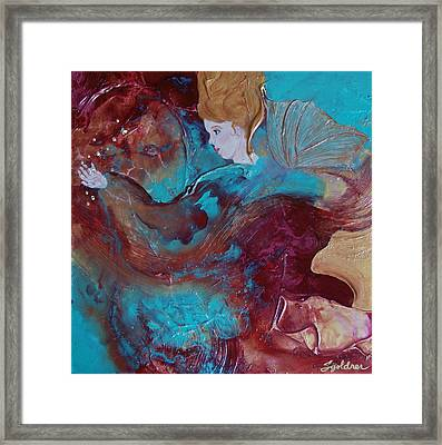 The Crystal Catcher Framed Print
