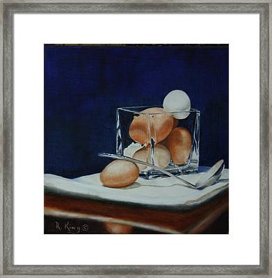 The Crystal Nest Framed Print