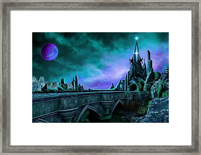 Framed Print featuring the painting The Crystal Palace - Nightwish by James Christopher Hill
